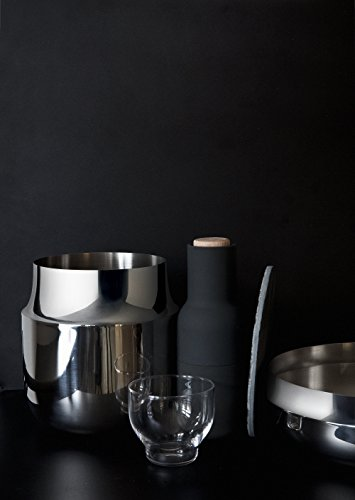 Menu 4730059 Tactile Vase breit, Höhe 18 cm, Durchmesser 17 cm, edelstahl - 2