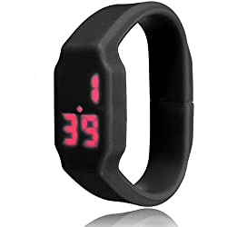 Gleader Black Waterproof LED Sport Watch Wristband USB Memory Flash Stick Pen Drive 16G