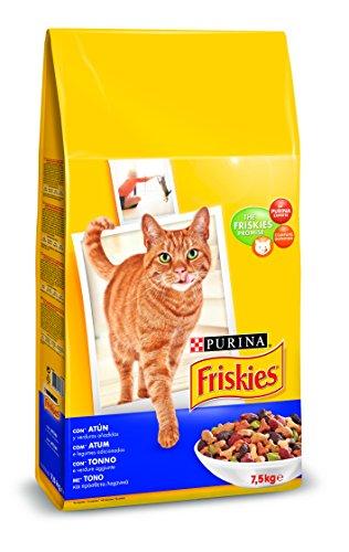 Purina Friskies Pienso para Gato Adulto Atún y Verduras 7,5 Kg