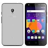 Easbuy Handy Hülle Soft Silikon Case Etui Tasche für Alcatel One Touch Pixi 4 (5.0 Zoll) 5045X/5045D 4G Smartphone Cover Handytasche Handyhülle Schutzhülle