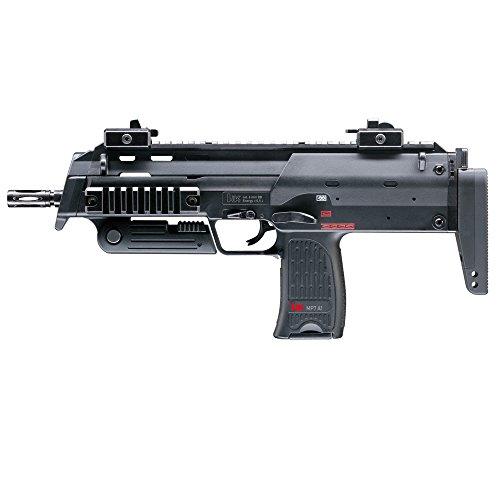 HECKLER & KOCH Softair MP7 A1 mit Maximum 0.5 Joule Airsoft Gewehr, Schwarz, One Size -