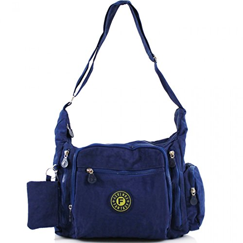 YourDezire , Borsa Messenger  donna Navy