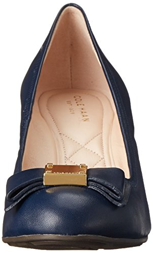 Pompe Cole Haan Tali Grand-Bow Wedge Blazer Blue