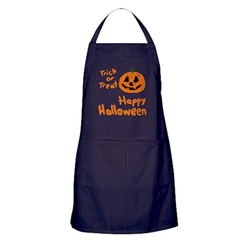 CafePress–Happy Halloween–Küche Schürze mit Taschen, Grillen Schürze, Backen ()
