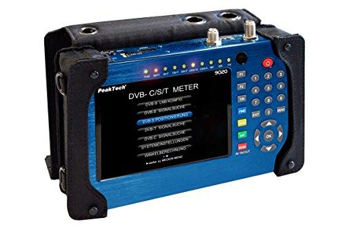 Preisvergleich Produktbild PeakTech TV Pegelmessgerät für DVB-S / S2 / C / T / T2, 1 Stück, P 9020