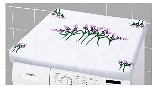 Waschmaschinenüberzug Waschmaschinen Überzug mit Lavendelblumen