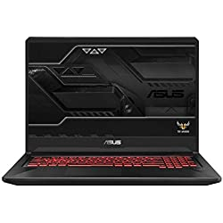 "Asus TUF705GE-EV130T PC Portable Gamer 17,3"" Dalle 144Htz Noir (Intel Core i5, 8 Go de RAM, 1 To + SSD 128 Go, Nvidia GeForce GTX1050 TI 4 Go, Windows 10) Clavier AZERTY Français"
