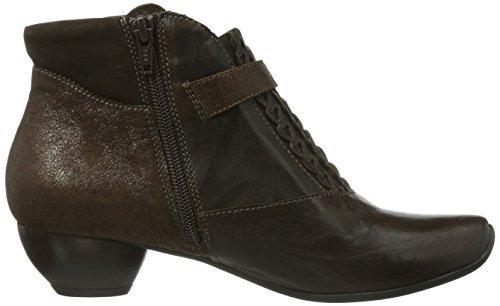 Think Aida, Boots femme Marron (Espresso/Kombi-42)