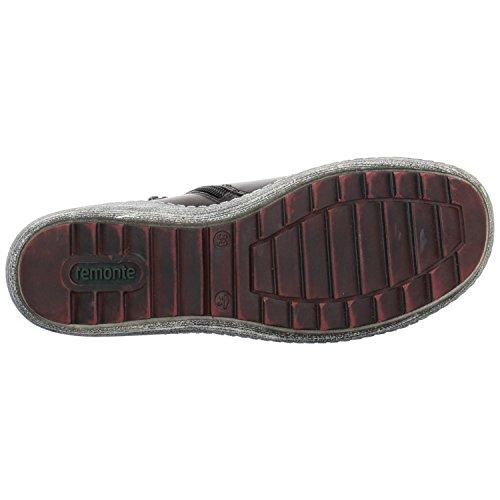 Remonte Damenschuhe R1478 Damen Stiefel, Boots, Schnürstiefel Schwarz