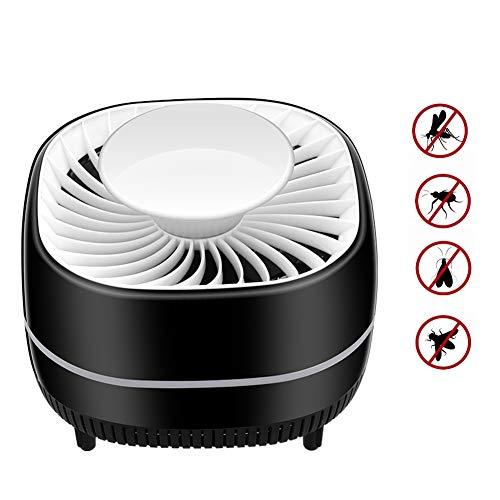 SUNSHINE HOME&3 Moskito-Mörder-Lampe, elektronischer Insektenmörder, sicherer USB-angetriebener Moskito-Zapper mit eingebautem Gebläse-Insektenschutz für Innenschlafzimmer-Babyraum-Küchenbüro