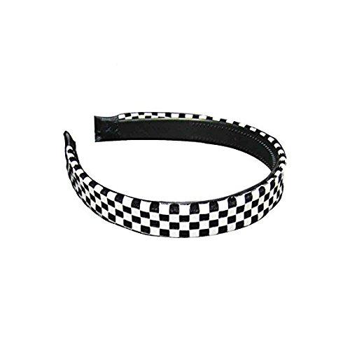 Rockabilly Haarreif Haarband Haarschmuck Stirnband mit Punkten Skull Zebra Leopard 2 cm Einheitsgröße 100% Polyester (84120-142-000)
