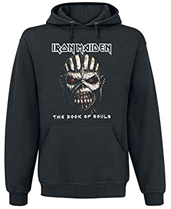 Iron Maiden The Book Of Souls Felpa con cappuccio nero XL