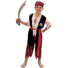 Disfraz de niño del Pirata Jim. 3 - 5 años