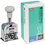 Max N-607 Numbering Machine with 6 digits of Big Characters