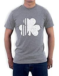 Saint Patrick's Day Irish Shamrock Four-Leaf Clover T-Shirt
