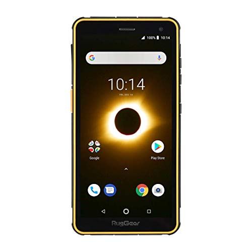 RugGear RG650 Outdoor Handy ohne Vertrag - Wasserdicht, Stoßfest, Robust, 5.5'' Corning-Glass Display, Android 8.1 Oreo, Dual-SIM -