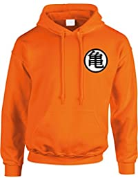 DRAGON BALL - SWEAT CAPUCHE ORANGE LOGO GOKU