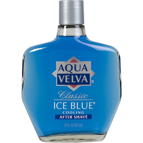Aqua Velva Aqua Velva Classic Ice Blue Cooling After Shave, 7 oz (Pack of 2) by Aqua Velva (Velva Ice Aqua)