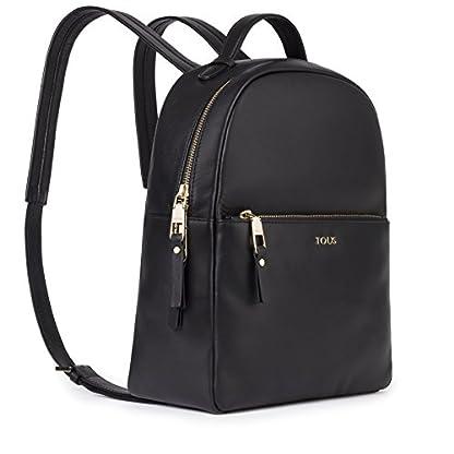 41sFh1dyPaL. SS416  - Tous Higgins, Bolso mochila para Mujer, (Negro 695890197), 27.5x33x11.5 cm (W x H x L)