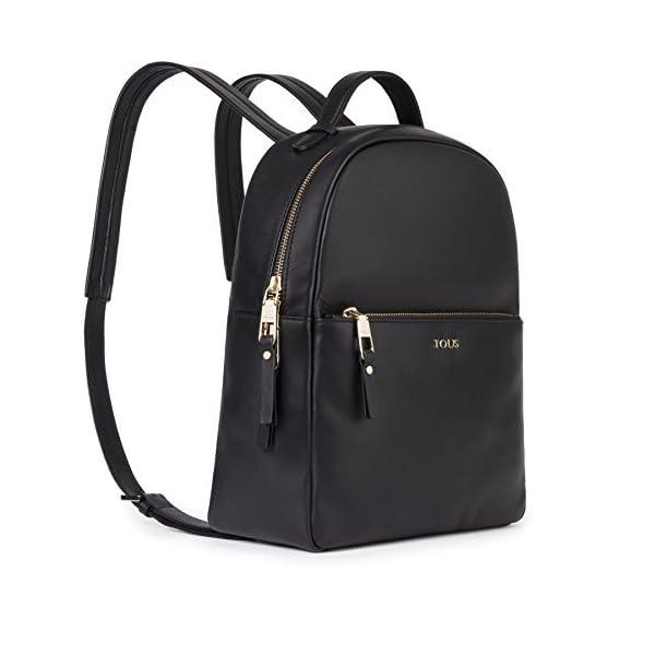 41sFh1dyPaL. SS600  - Tous Higgins, Bolso mochila para Mujer, Negro (Negro 695890197), 27.5x33x11.5 cm (W x H x L)