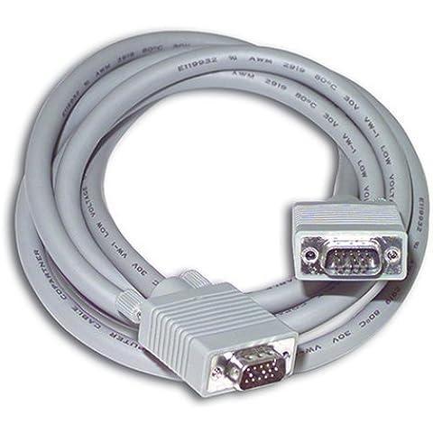 C2G 6ft Premium Shielded HD15 M/M SXGA Monitor Cable