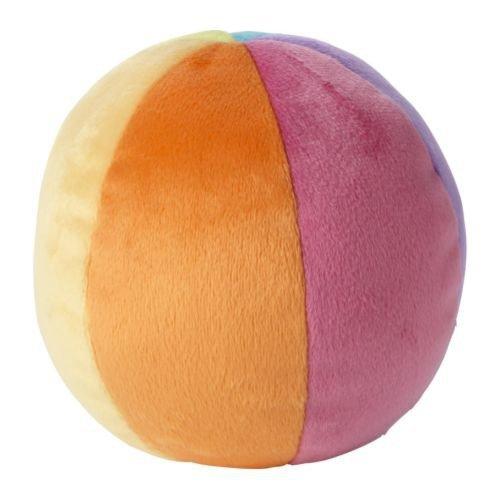 IKEA LEKA - Juguete suave, bola, multicolor