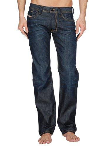 Diesel Herren Larkee 806W Straight Jeans, Blau, 33W x 30L