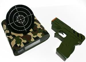 PicknBuy pistolet tir jeu réveil édition spéciale avec l'armée des bois camouflage pattern