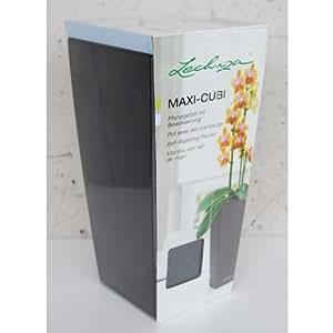 Lechuza cache pot maxi cubi anthracite tout compris for Pack cuisine tout compris