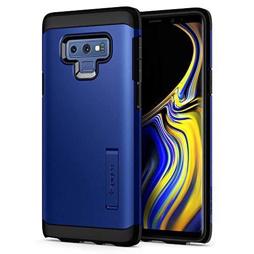 spigen 599CS24591 Funda Azul Funda para teléfono móvil - Fundas para teléfonos móviles (Funda, Samsung, Samsung Galaxy Note 9, Azul)