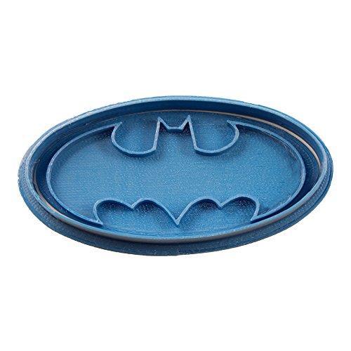 Cuticuter Superhelden Batman Ausstechform, Blau, 8x 7x 1.5cm