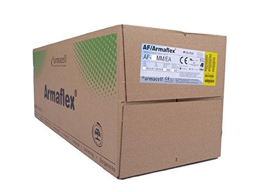 Armacell / AF/Armaflex Rollladenkasten Isoliermatte für Rollladendämmung / Dämmmatte 19 mm / 600 x 100 cm