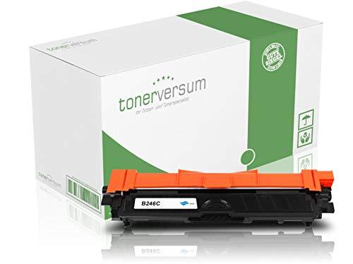 Toner-Kartusche kompatibel zu Brother TN-246 TN-242 Cyan Druckerpatrone für MFC-9332cdw HL-3152cdw DCP-9017cdw MFC-9142cdn MFC-9342cdw HL-3172cdw HL-3142cw DCP-9022cdw Laserdrucker TN-246C