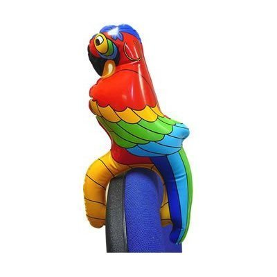Inflatable Parrot on Shoulder (HN00507-CHNA-FLTB)