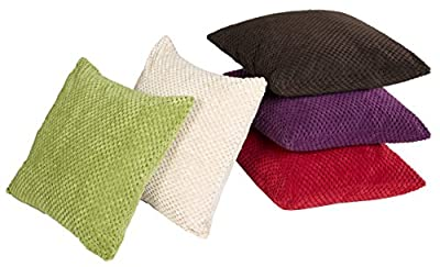 Chenille Spot Cushion Covers And Throws - inexpensive UK light shop.