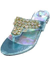 Wear & Walk UK, Sandali donna, Verde