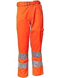 Planam Bundhose Warnschutz, Größe 102, 1 Stück, orange, 2011102