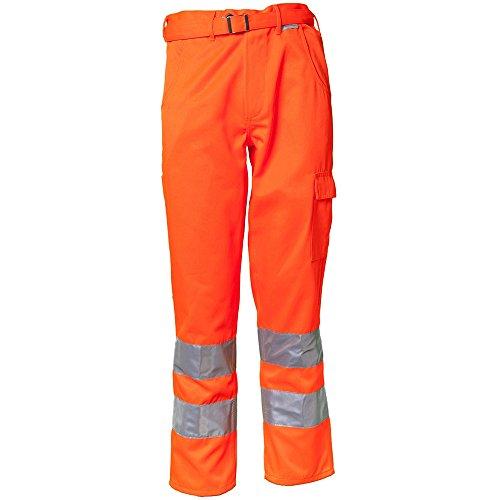 Planam Bundhose Warnschutz, Größe 46, 1 Stück, orange, 2011046