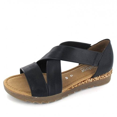 Gabor Sandalette Größe 6.5, Farbe: blau