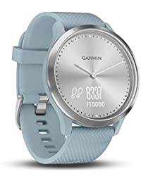 Garmin vívomove HR - Reloj Deportivo (Plata, Polímero, Resistente al Agua, Silicona