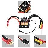 FairytaleMM Ocday wasserdicht 120a bürstenlosen esc elektrische drehzahlregler für 1/8 rc Auto (Farbe: schwarz)