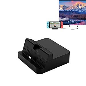 GULIkit Switch Dock Set, Typ C zu HDMI Adapter Docking Station für Nintendo Switch TV-Konsolenmodus, Ladestation Tragbarer Kompatibel Samsung DeX Modus, Huawei PC Modus und Macbook iPad Pro