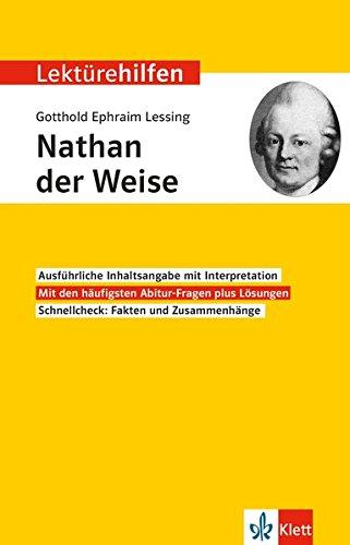 Lektürehilfen Gotthold Ephraim Lessing