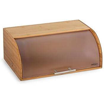 Brotkasten KARLA Brotbox aus Bambus, 38,5x29x15 cm