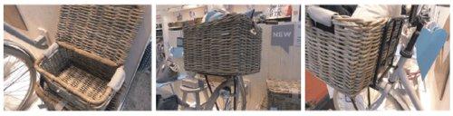 Basil Transportkorb Denton L Fahrradkorb, Brown, 51 x 37 x 31 cm - 2