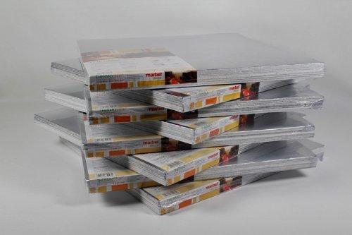 10 m² Isolierplatten mit Alufolie 50x50cm Wand Isolierung THERMO-STOP 4