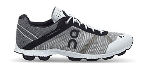 On Running Cloudrush Black White 42.5