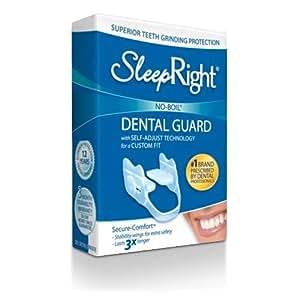 BeconfiDent SleepRight Dental Guard Secure (Zähneknirscher-Schiene), 1er Pack (1 x 1 Stück)