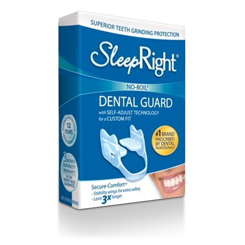 BeconfiDent SleepRight Dental Guard Secure (Zähneknirscher-Schiene), 1er Pack (1 x 1 Stück)