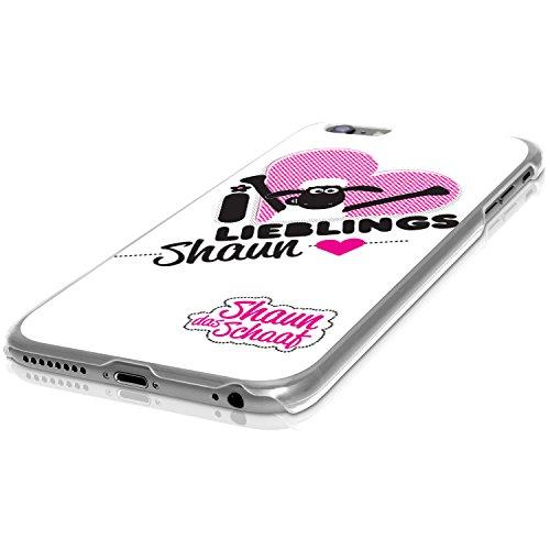 Finoo Shaun das Schaf Hardcase - Shaun avec Coeurs, Iphone SE Préféré Shaun
